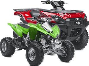Квадроциклы Kawasaki