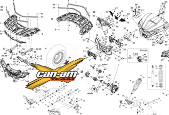 Can-Am запчасти